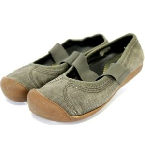 Keen Sienna MJ Flats Women's Canvas Shoes Size 8